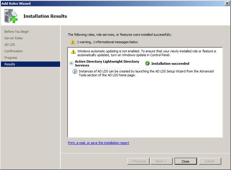 Build Ad Windows Server