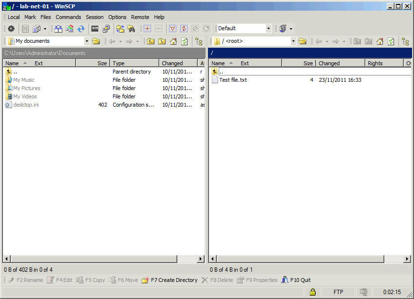 Automating file transfer via SFTP i FTPS using WinSCP | SK