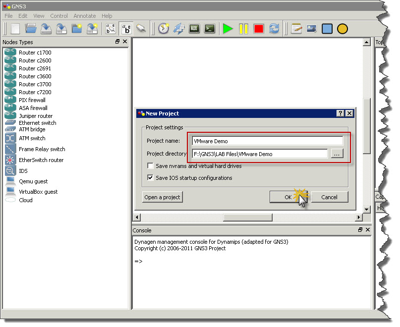 How-to : VMware Workstation 8 and GNS3 integration | SK Tech