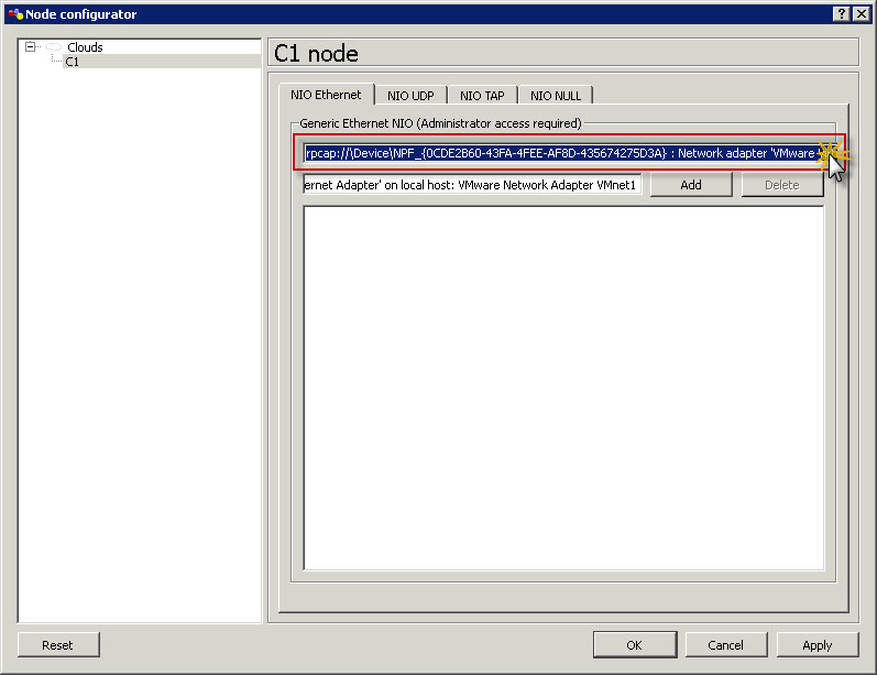 How-to : VMware Workstation 8 and GNS3 integration | SK Tech Scratchpad
