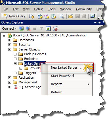 How-to : Use SQL Server to query Active Directory | SK Tech Scratchpad