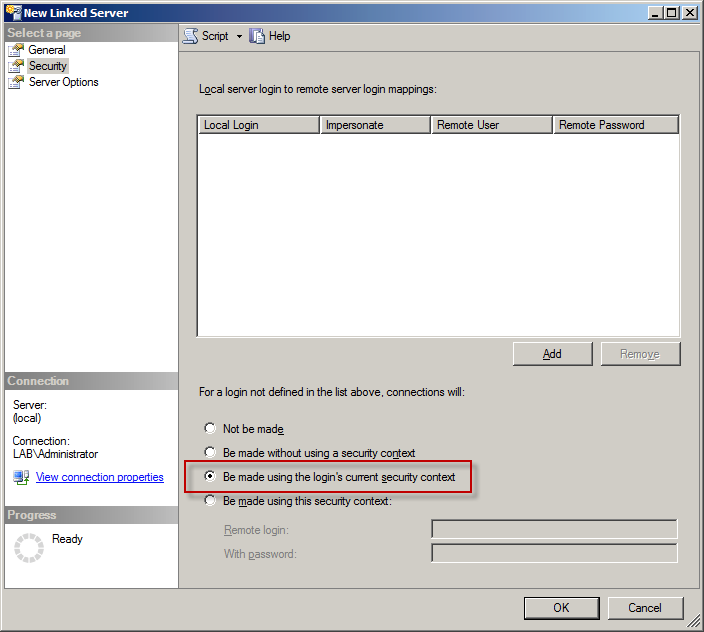 How-to : Use SQL Server to query Active Directory | SK Tech