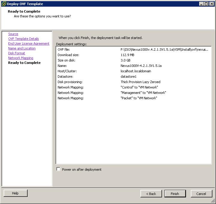 How To Running Cisco Nexus 1000 As Virtual Machine On