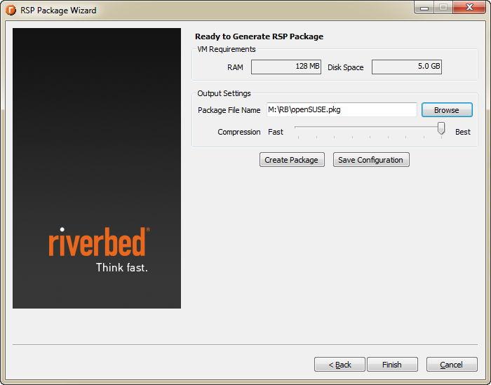 How-to : Package virtual machine for Riverbed Steelhead with