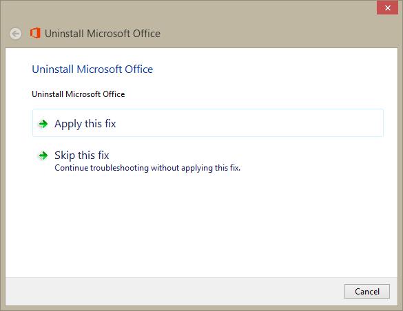 office 2013 code error 30180-4