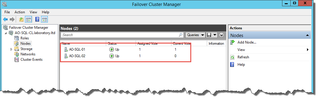 how to keep cluster roles on one node
